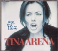 TINA ARENA Live For The One I Love UK CD5
