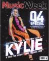 KYLIE MINOGUE Music Week (10/12/20) UK Magazine