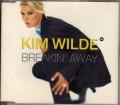 KIM WILDE Breakin' Away UK CD5 w/4 Tracks