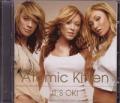 ATOMIC KITTEN It's Okay! Enhanced UK CD5 w/Video