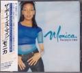 MONICA The Boy Is Mine JAPAN CD