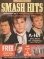 A-HA Smash Hits (1/88) UK Magazine