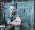 STING All This Time JAPAN CD w/3 Bonus Tracks