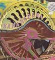 BANANARAMA Long Train Running UK 10'' Picture Disc w/Wheel-Shape