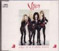 VIXEN Edge Of A Broken Heart UK  CD5 w/ LIVE TRACKS