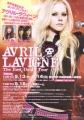 AVRIL LAVIGNE 2008 JAPAN Tour Flyer