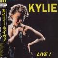 KYLIE MINOGUE Live! JAPAN Laserdisc w/15 Tracks RARE