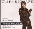 CLIFF RICHARD Human Work Of Art UK CD5