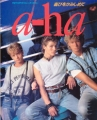 A-HA Ongaku Senka Special 1986 JAPAN Picture Book