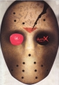 JASON-X (FRIDAY THE 13TH Part 10) JAPAN Movie Mask-Shaped Press Booklet