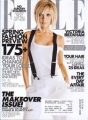 VICTORIA BECKHAM Elle (1/08) USA Magazine
