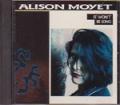 ALISON MOYET It Won't Be Long USA CD5 Promo w/2 Versions