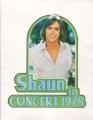 SHAUN CASSIDY 1978 USA Tour Program
