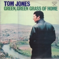 TOM JONES Green, Green Grass Of Home JAPAN LP