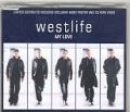WESTLIFE My Love UK CD5 w/Poster & CD-ROM Video