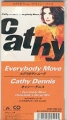 CATHY DENNIS Everybody Move JAPAN CD3 Promo