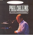 PHIL COLLINS Do You Remember (w/ 4 LIVE tracks)
