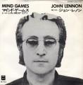 JOHN LENNON Mind Games JAPAN 7