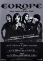 EUROPE 2010 JAPAN Tour Flyer
