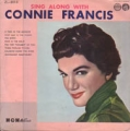 CONNIE FRANCIS Sing Along With Connie Francis JAPAN 10