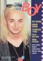 CULTURE CLUB Boy (9/84) JAPAN Magazine