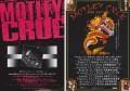 MOTLEY CRUE Set of 2 JAPAN Promo Tour Flyer