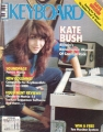 KATE BUSH Keyboard (7/85) USA Magazine