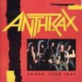 ANTHRAX 1987 JAPAN Tour Program