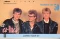 A-HA Tour '87 JAPAN Telephone Card