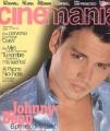 JOHNNY DEPP Cinemania (10/96) SPAIN Magazine