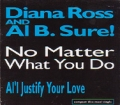 DIANA ROSS and AL B.SURE! No Matter What You Do USA CD5