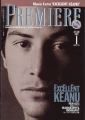 KEANU REEVES Premiere (1/95) JAPAN Magazine Supplement