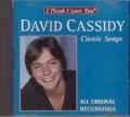 DAVID CASSIDY Classic Songs USA CD used