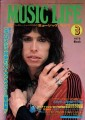 AEROSMITH Music Life (3/76) JAPAN Magazine