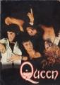 QUEEN 1975 JAPAN Tour Program