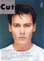 JOHNNY DEPP Cut (10/99) JAPAN Magazine