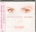 SHEENA EASTON Best Ballads JAPAN CD w/Compilation