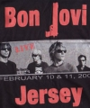 BON JOVI Live In New Jersey USA T Shirt