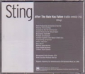 STING After The Rain Has Fallen USA CD5 Promo