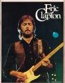 ERIC CLAPTON 1975 USA Tour Program