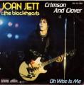 JOAN JETT & THE BLACKHEARTS Crimson And Clover GERMANY 7
