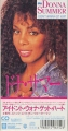 DONNA SUMMER I Don't Wanna Get Hurt JAPAN CD3 Promo