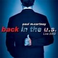 PAUL McCARTNEY Back In The U.S. Live 2002 USA 2CD