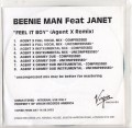BEENIE MAN feat. JANET JACKSON Feel It Boy UK CD5 Promo w/Agent X Remixes