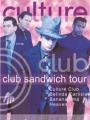 CULTURE CLUB Club Sandwich Tour UK Tour Program w/Bananarama, Belinda Carlisle & Heaven 17
