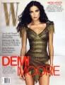 DEMI MOORE W (12/09) USA Magazine