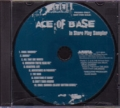ACE OF BASE In Store Play Sampler USA CD w/10 Tracks Promo Only
