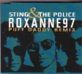 THE POLICE Roxanne '97 Puff Daddy Remix UK CD5