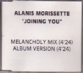 ALANIS MORISSETTE Joining You USA CD5 Promo Test Pressing w/2 Versions