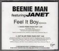 BEENIE MAN feat. JANET JACKSON Feel It Boy USA CD5 Promo w/2 Versions